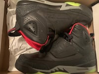 Pair of black air jordan basketball shoes Lafayette, 70501