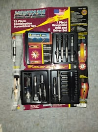 Montana 25 piece screw driver set. NEVER used. Pittsburgh