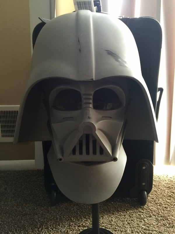 Used 1 1 Scale Authentic Prop Replica Of The Actual Darth Vader Helmet Used In Star Wars Revenge Of The Sith For Sale In Toms River Letgo