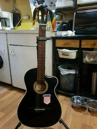 Mexican made classical guitar