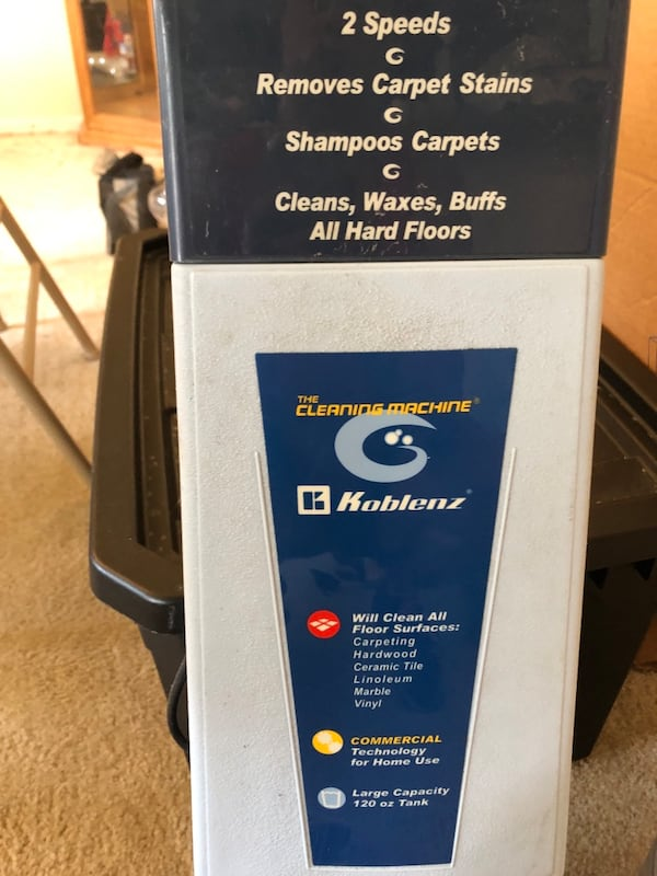 Carpet  / floor cleaner 322d7a07-6dda-4392-aaf2-951cbb5d4166