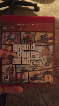 Grand Theft Auto Five PS3 game case Hagerstown, 21740