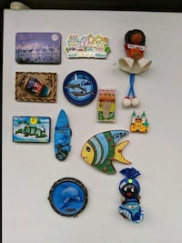 Magnets from various places