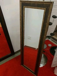 brown wooden framed mirror Springfield, 22150