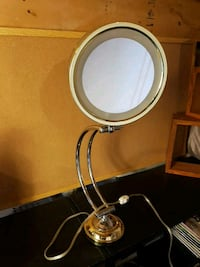 Makeup Mirror (Lighted, Adjustable)
