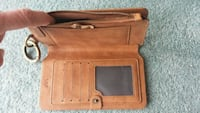 Floveme ladies tan leather wallet/cluch Newark, 19711