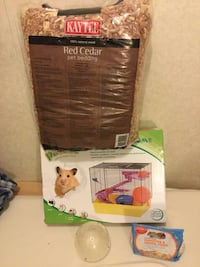 Hamster cage set and accessories  Charles Town, 25414