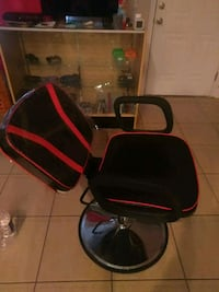black and red rolling armchair New Orleans, 70118