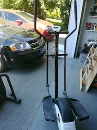 black and gray elliptical trainer Laval