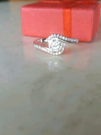 silver-colored diamond ring San Diego, 92114