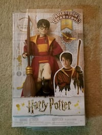 Harry Potter Quidditch Figure Doll . Condition is  Fairfax, 22033