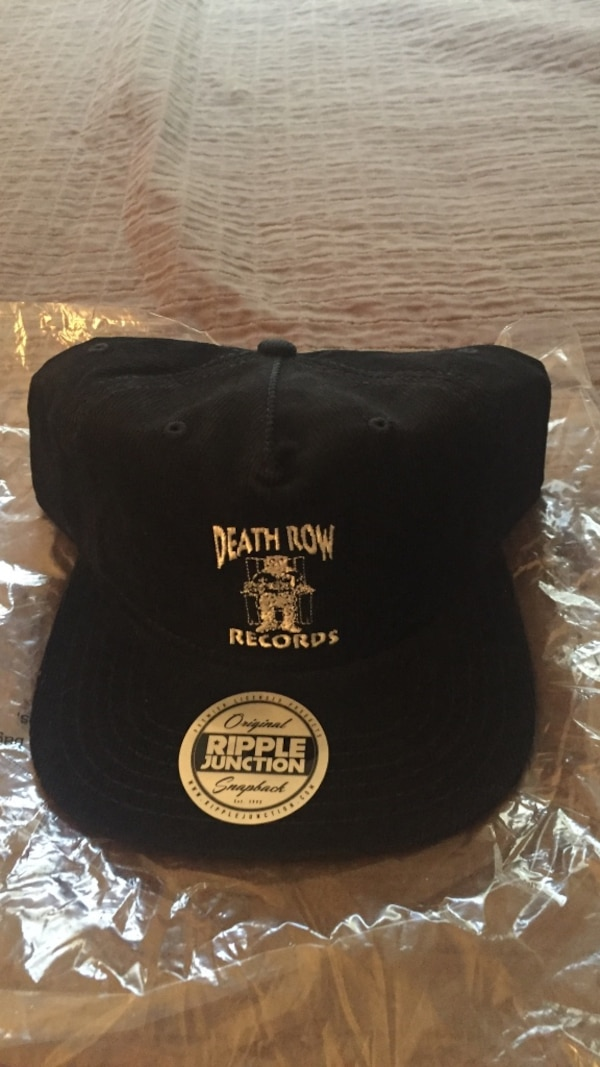 65c8e60b1bed9 Used Black Death Row coardaroy snap back hat for sale in Tallahassee ...