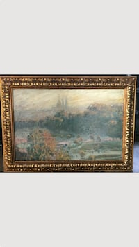 Quality picture frame with original painting Denton, 76209