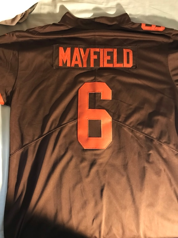 on sale 1846d c2dd3 Browns Baker Mayfield jersey