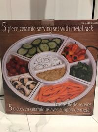 New 5-Piece Serving Tray Set Mississauga, L5N 8H4