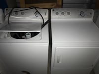 GE Washer and Electric Dryer
