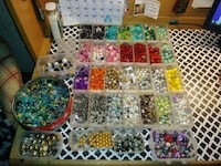 assorted color bead lot in case San Angelo, 76903