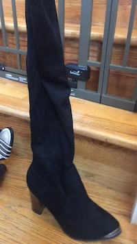 black suede knee high boots Great Falls, 22066