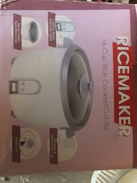 16-cup Ricemaker rice cooker   Mississauga, L4Y