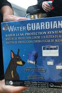 Water guardian (water leak protection system)originally 120 for price
