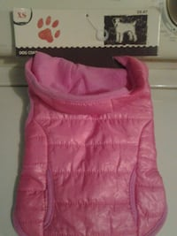 "Fits dogs 9""-11"".New dog coat  Mansfield, 44907"