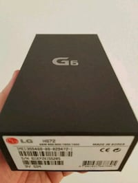 LG G6 NEW IN BOX  Montréal, H1S 2G1