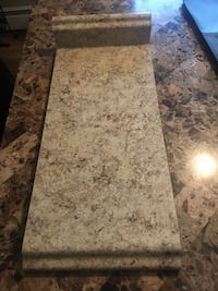 Laminate Countertop in Golden Juparana with Backsplash Port Jefferson Station, 11776