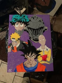 Anime Mash-up Painting