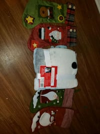 4 Christmas stocking n blanket new  Châteauguay