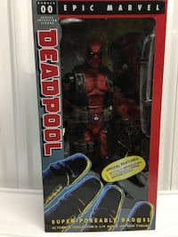 Mecca Deadpool stands over 12 inch's never been open $140 Vaughan, L4K 1T7