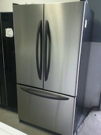 stainless steel french door refrigerator Montréal, H4K 1M9
