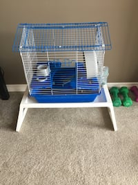 Hamster or small animal cage. Domes with bedding and food Edmonton, T5N 3X1