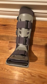 Immobilizer boot aircast