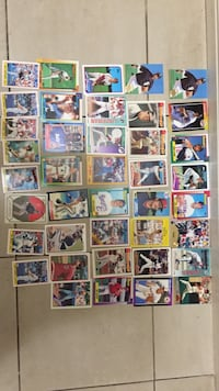 baseball player card collection