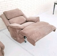 MICROFIBER SUEDE RECLINER CHAIR ???? cheap delivery! Frisco, 75034