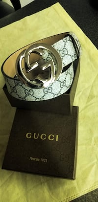 black Gucci leather belt with box Fresno, 93704