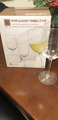 4 wine glasses  Alexandria, 22305