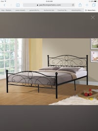 Twin metal platform beds - Black or White - Mattress sold separate  Greenville, 29607