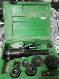 Greenlee Hydraulic Punch Driver and Kit