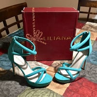 Brand new high heels size8 43 mi