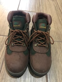 Beef and Broccoli Timberlands Size 8 1/2 Clinton, 20735