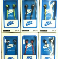 Buy 3 New Nike Earphones W Mic San Antonio, 78230