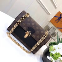 black and gold-colored leather wallet Лос-Анджелес, 91411