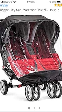 Baby Jogger double stroller rain cover Vaughan, L6A 4N2