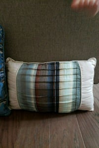 Beige, blue, and brown throw pillow Provo, 84606
