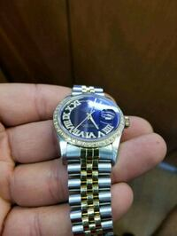 Rolex with gold and diamonds  Toronto, M1L 2L6
