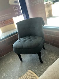 black and gray padded chair Chicago, 60634