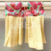 Two (2) watermelon kitchen towels - yellow Tampa, 33612