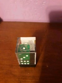 Green and White Las Vegas Dice Soddy-Daisy, 37379