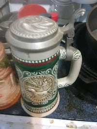 white and brown ceramic beer stein Redding, 96001